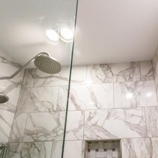 Open Glass Shower Door