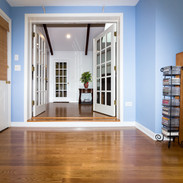 Hardwood flooring with Step Up