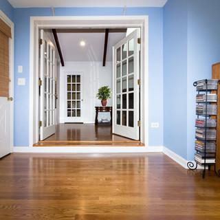 Hardwood flooring with Step Up