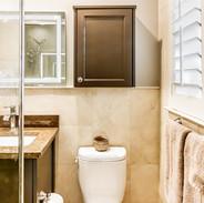 Added Storage Above Toilet