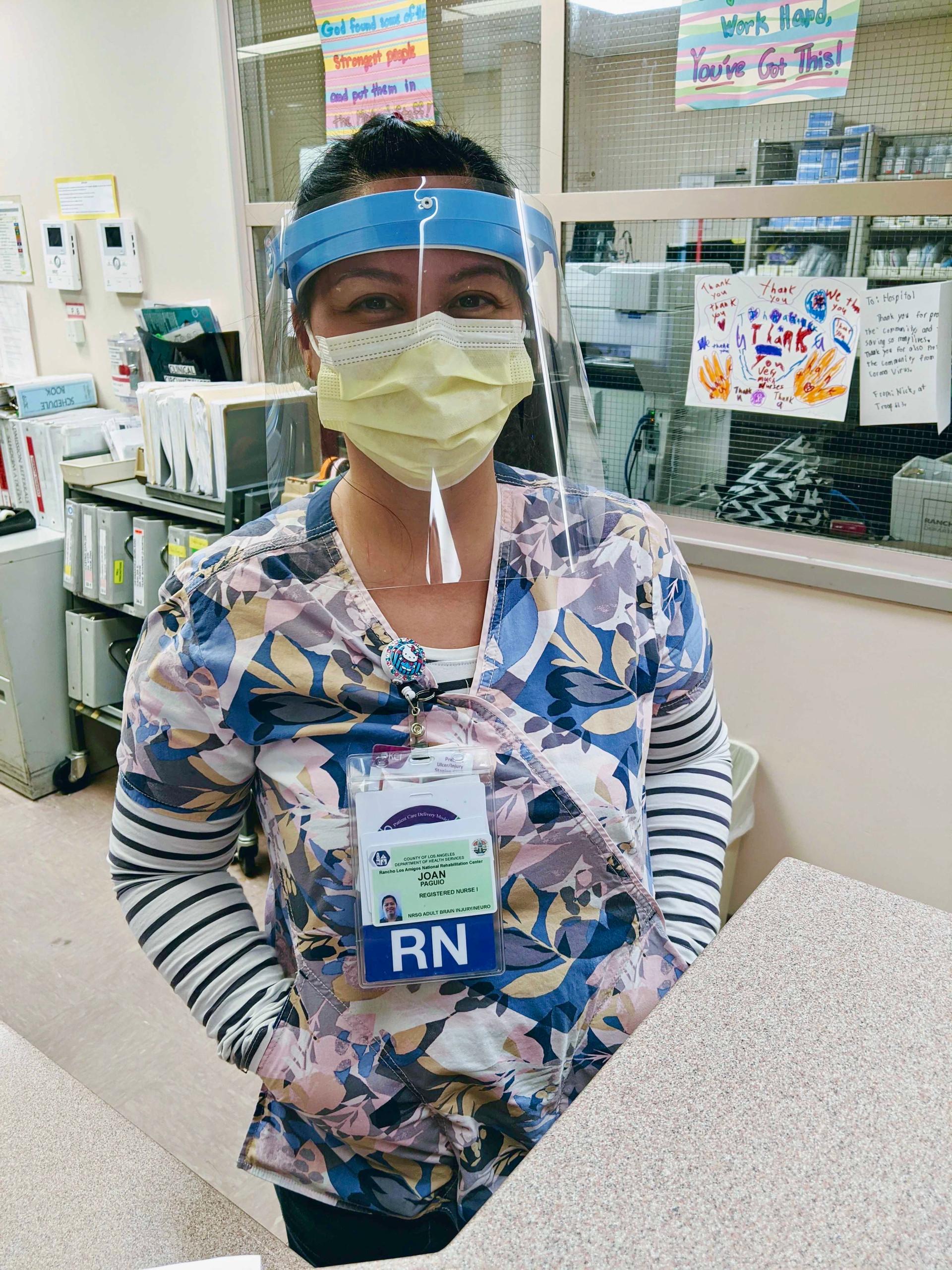 Rancho nurse with cast design