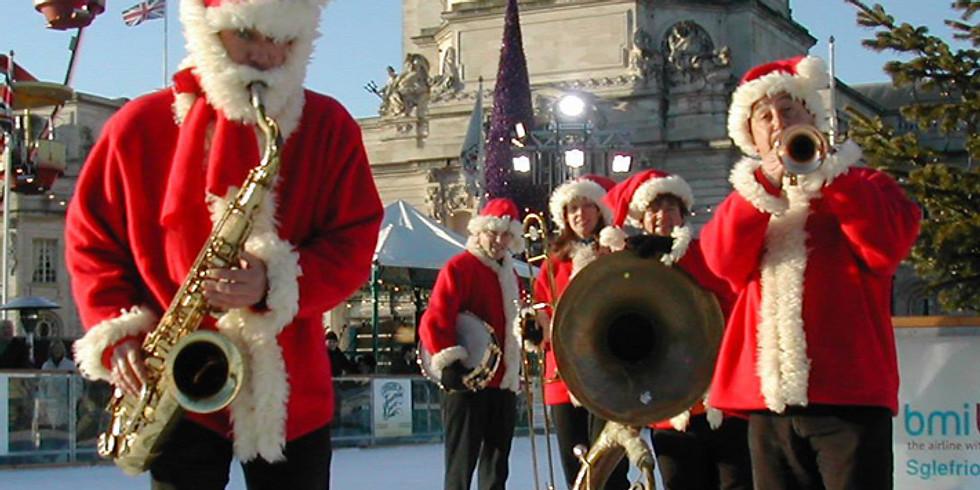 Red Hot Santas