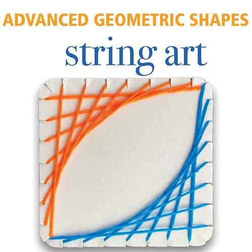 String Art Geometry - Advanced Shapes