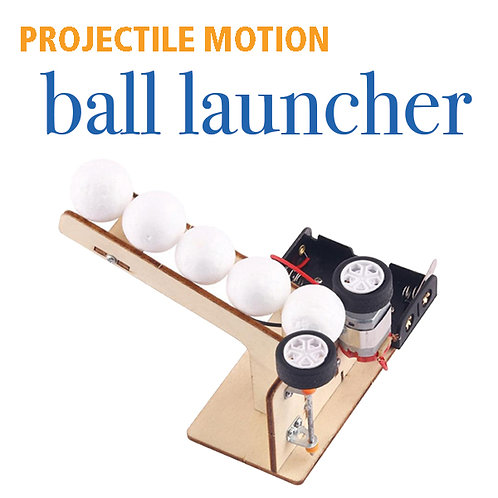 Projectile Motion - Ball Launcher