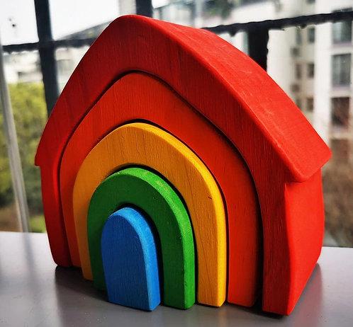 Wood Blocks - House