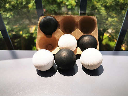 Small Wooden Balls