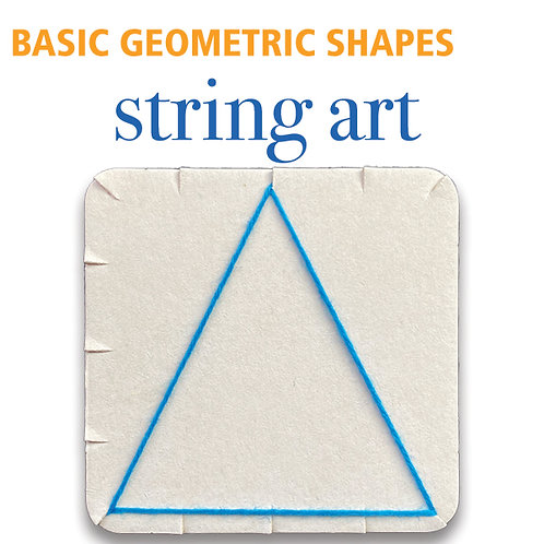 String Art Geometry - Basic Shapes