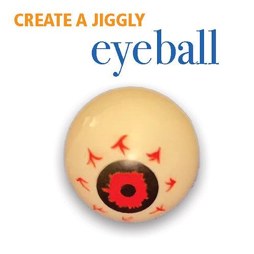 Jiggly Eyeball -Create a Simple Circuit