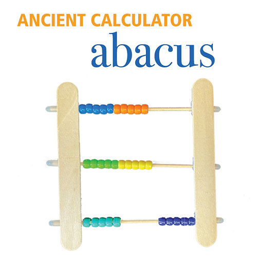Build An Ancient Calculator - Abacus Kit