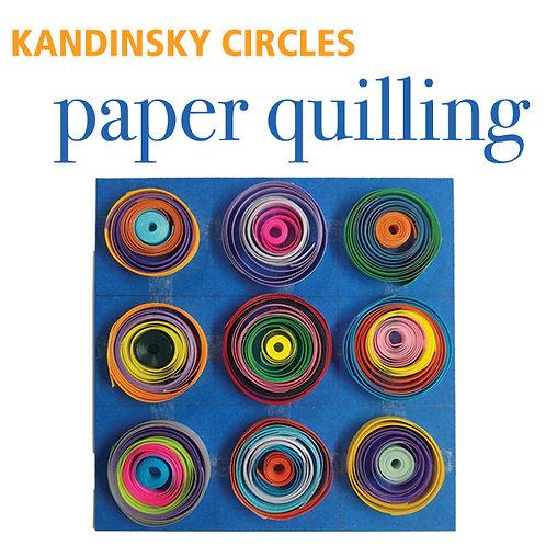 Paper Quilling - Kandinsky Circles