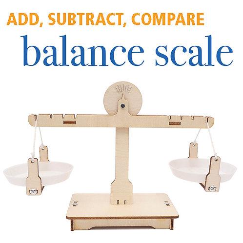 Wooden Balance Scale Kit