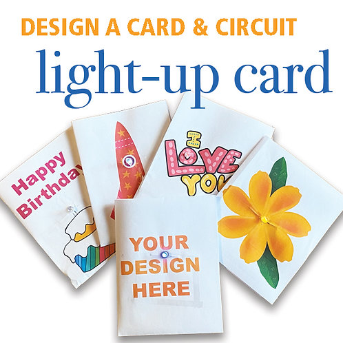 Light-Up Greeting Card - Paper Circuit