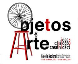 """""""Objetos de Arte"""" Galeria Nacional"""