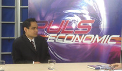 Al, special guest on Economic Show