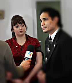 National TV Interview