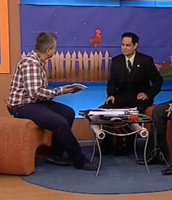 Aldous, guest at morning Talk Show