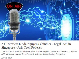 Listen to COO Linda Schindler on Asia Tech Podcast now!
