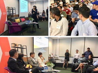 "FirstCOUNSEL at the 1st ""Meet ASEAN's Talents & Champions"" (MATCH) Singapore roadshow at BLOCK71"