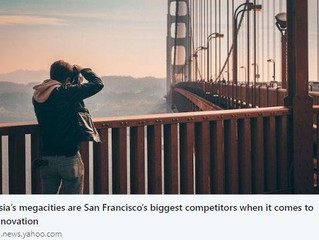 Asia's megacities are San Francisco's biggest competitors when it comes to innovation