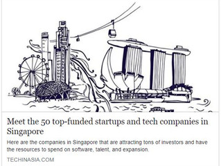 Meet the 50 top-funded startups and tech companies in Singapore