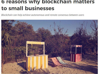 6 reasons why blockchain matters to small businesses