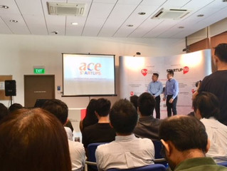 FirstCOUNSEL at launch of ACE STARTUPS today!