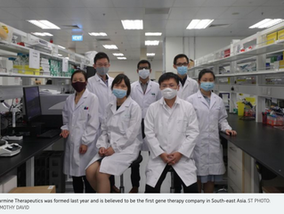 Singapore gene therapy start-up clinches deal of over $1.2b with global pharmaceutical giant