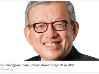 SMEs in Singapore more upbeat about prospects in 2018