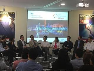 COO Linda Schindler moderates UK DIT panel for Global Entrepreneurship Week