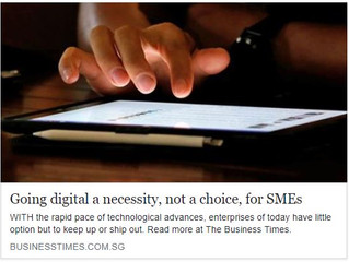 Going digital a necessity, not a choice, for SMEs