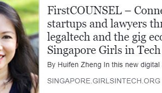 COO Linda Schindler featured in Girls in Tech Singapore