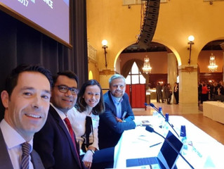 Founder/CEO Azmul moderates panel at ITechLaw conference in Stockholm