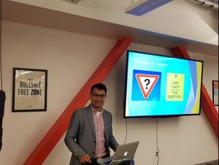 CEO/Founder Azmul Haque speaking in San Francisco about Int'l ICO Strategies