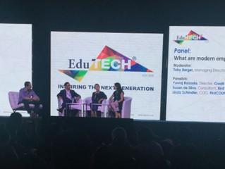 FirstCOUNSEL COO Linda Schindler speaks at Edutech Asia 2018