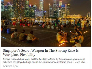 Singapore's Secret Weapon In The Startup Race Is Workplace Flexibility