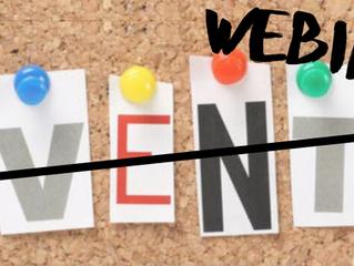 Upcoming Webinars in Singapore for start-ups, SMEs and entrepreneurs - August 2020