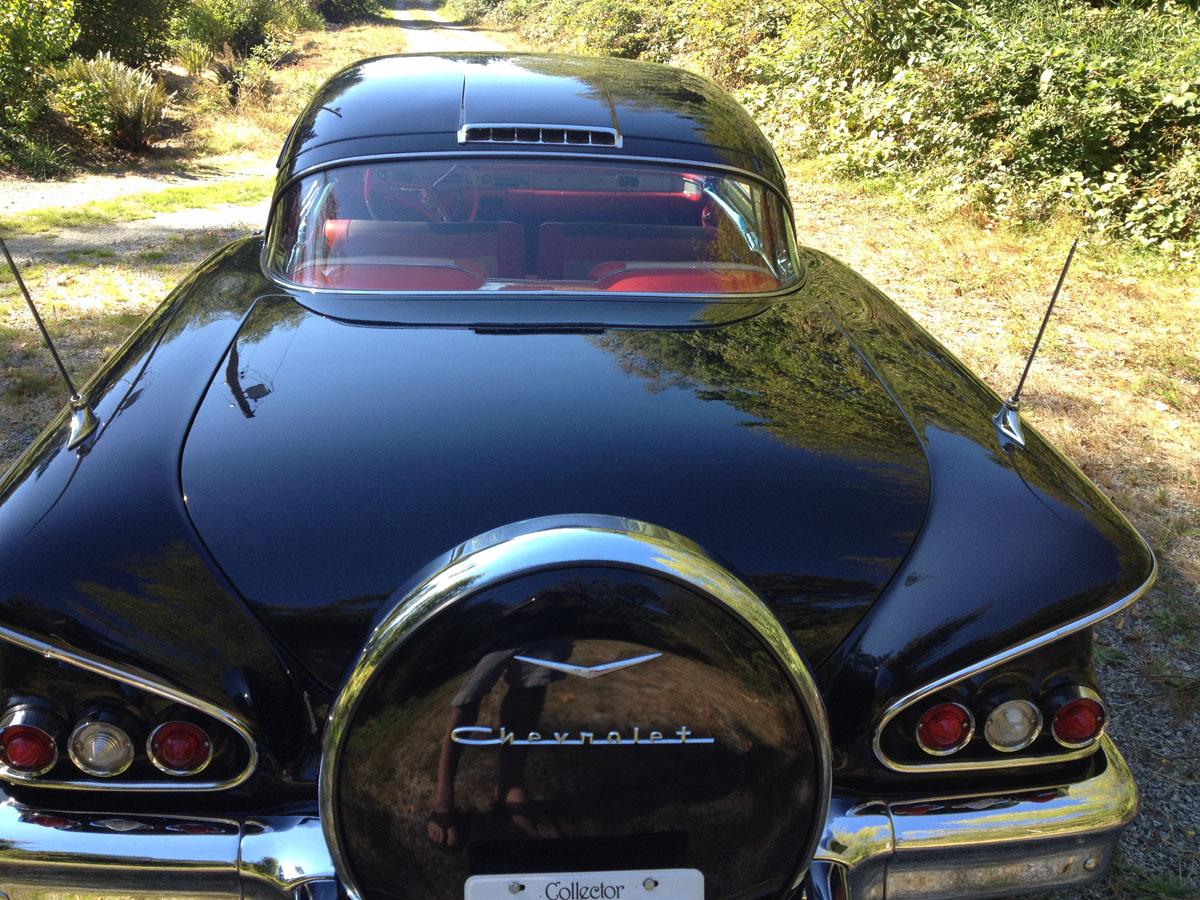 58 Chev Impala full restoration