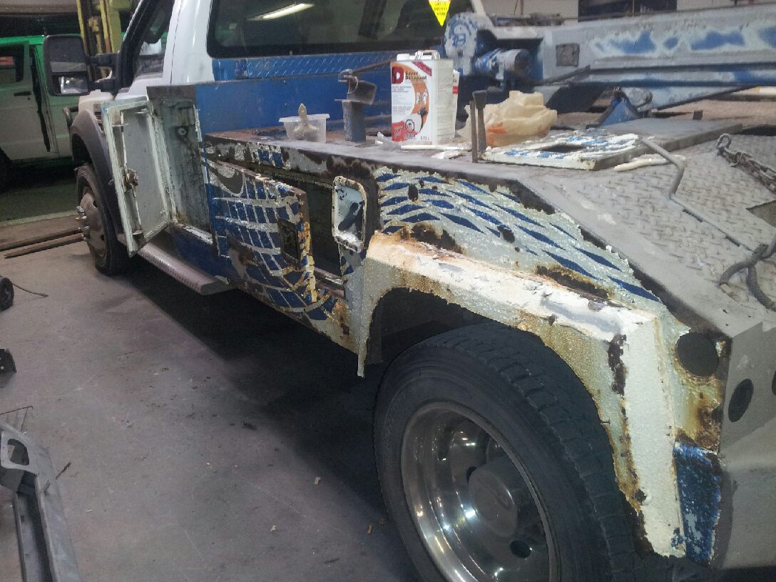 Tow Truck before