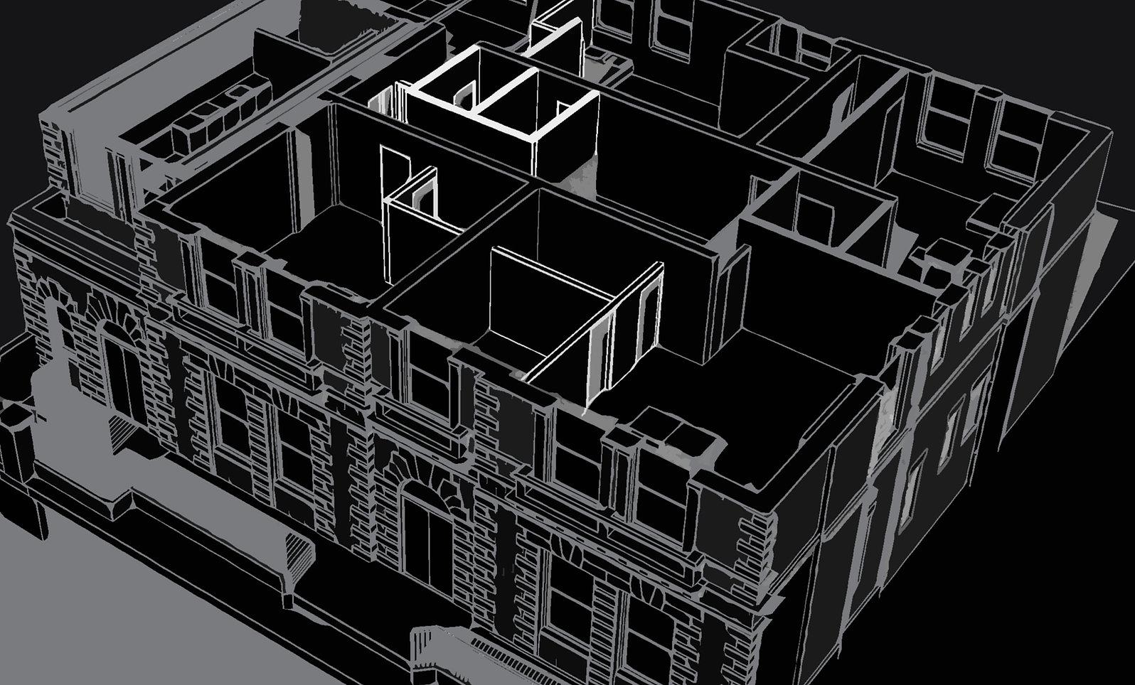 0001 - 3D View - 3D View 1 _ Black&White