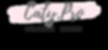 Peachpuff Brush Stroke Photography Logo.