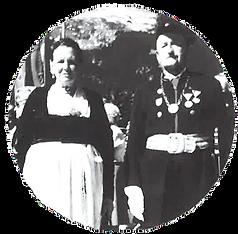 Johann Höller mit Katharina Höller