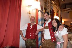 Matthias, Franz und Bettina