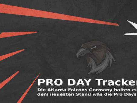 Pro Day Tracker (KW14) - Was machen die Stars von morgen?