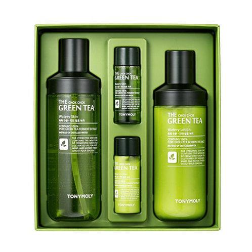 The Chok Chok Green Tea Watery Skin Care Set