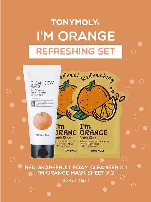 I'm Orange Refreshing Set