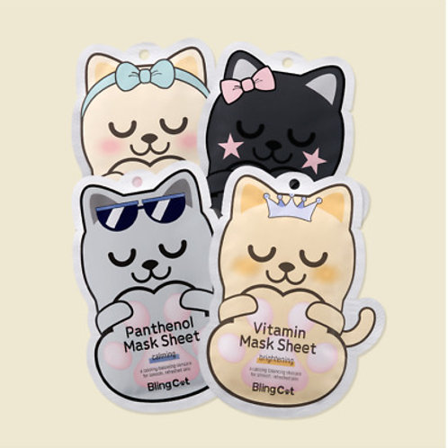 Bling Cat Mask Sheet
