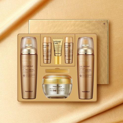 Intense Care Gold 24K Snail Skin Care Set