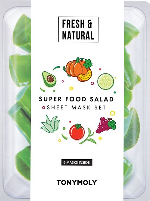 Super Food Salad Sheet Mask Set
