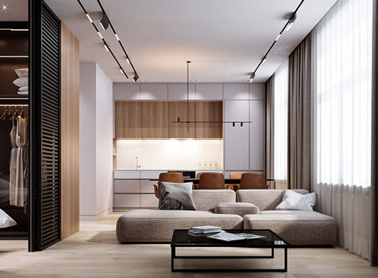 Дизайн квартира в современном стиле
