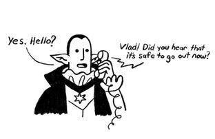 Vlad Gets a Phone Call